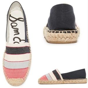 Sam Edelman Verona Striped Canvas Espadrilles